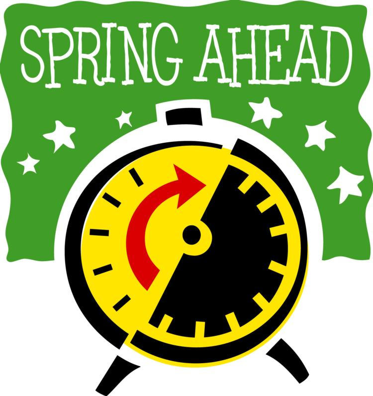 Daylight savings Spring ahead