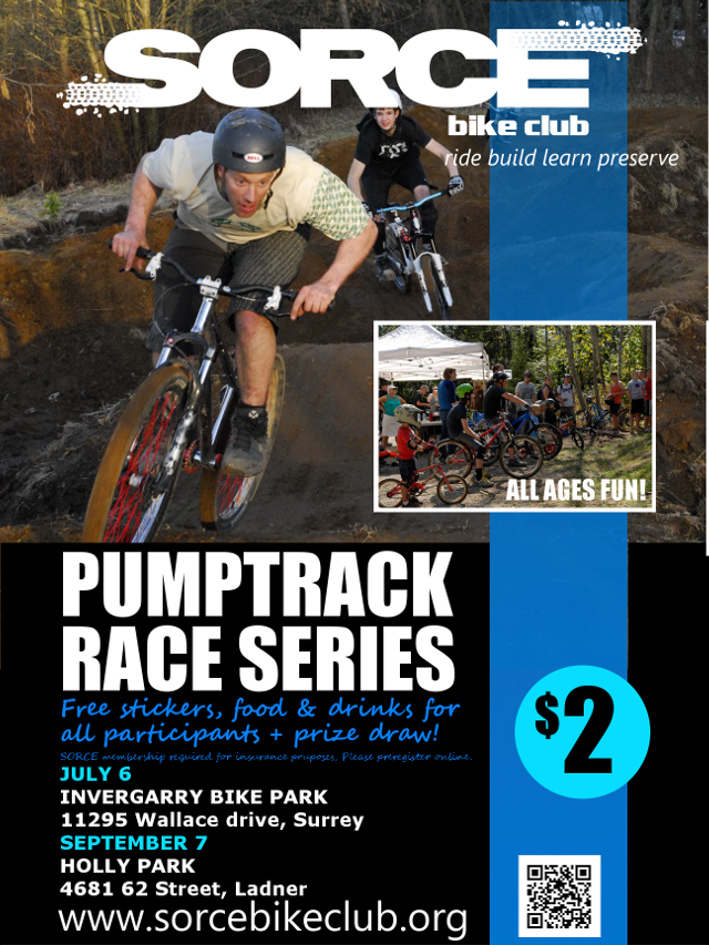 pump track race poster