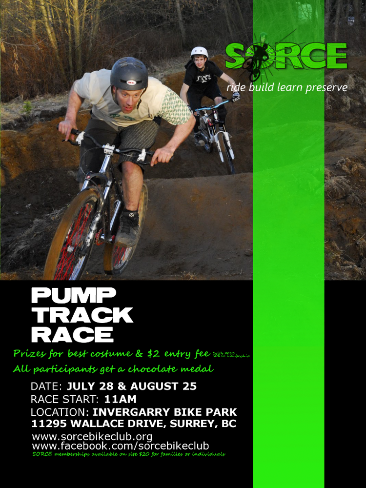 pump track race poster smo